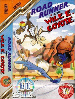 Juego online Road Runner and Wyle E. Coyote (CPC)