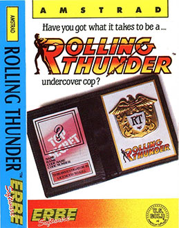 Juego online Rolling Thunder (CPC)