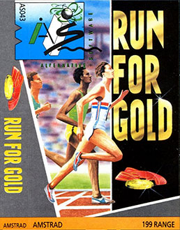Portada de la descarga de Run For Gold