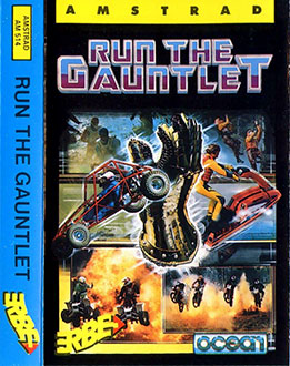 Juego online Run The Gauntlet (CPC)