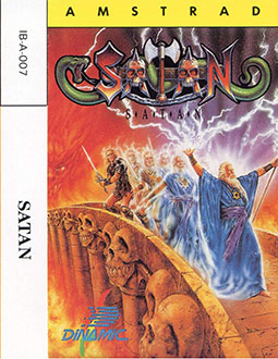 Carátula del juego Satan (CPC)