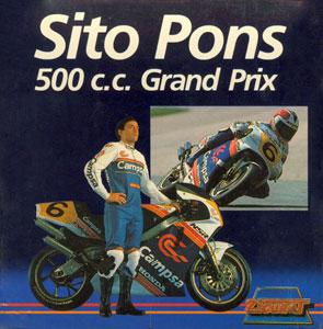 Juego online Sito Pons 500 Cc Grand Prix (CPC)