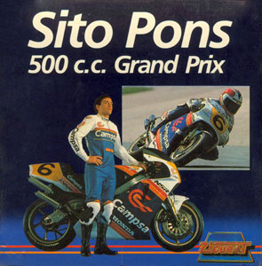Carátula del juego Sito Pons 500 Cc Grand Prix (CPC)