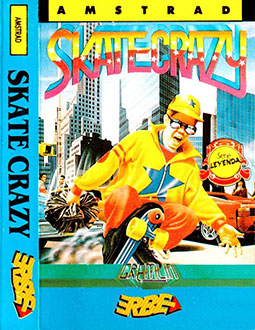Portada de la descarga de Skate Crazy