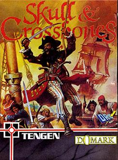 Carátula del juego Skull & Crossbones (CPC)