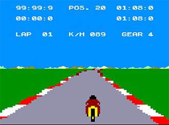 Pantallazo del juego online Speed King (CPC)