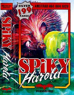 Juego online Spiky Harold (CPC)