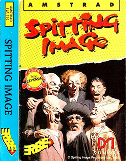 Portada de la descarga de Spitting Image: The Computer Game
