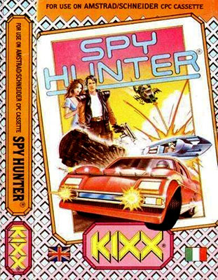 Portada de la descarga de Spy Hunter