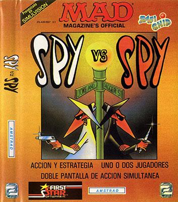 Portada de la descarga de Spy vs Spy