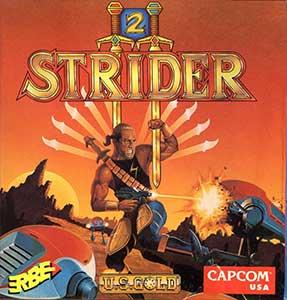 Juego online Strider II (CPC)