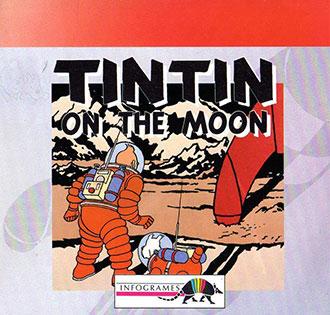 Portada de la descarga de Tintin On The Moon