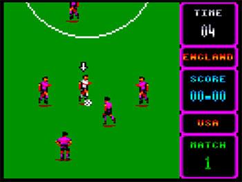 Pantallazo del juego online World Cup Soccer Italia 90 (CPC)