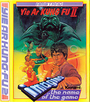 Juego online Yie Ar Kung Fu II (CPC)