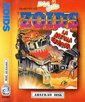 Juego online Zoids (CPC)