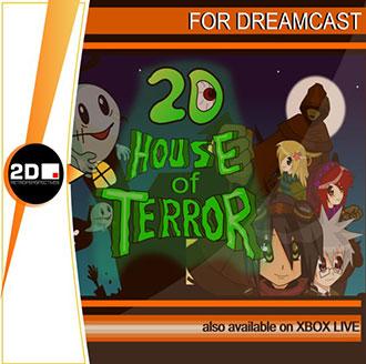 Portada de la descarga de 2D House of Terror