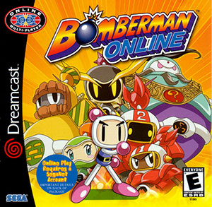 Portada de la descarga de Bomberman Online