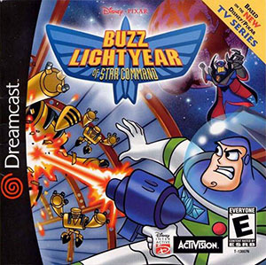 Juego online Disney-Pixar's Buzz Lightyear of Star Command (DC)