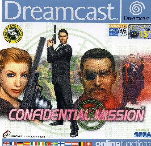 Portada de la descarga de Confidential Mission