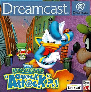 Portada de la descarga de Disney's Donald Duck Quack Attack