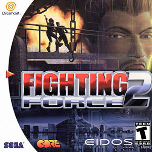 Carátula del juego Fighting Force 2 (DC)
