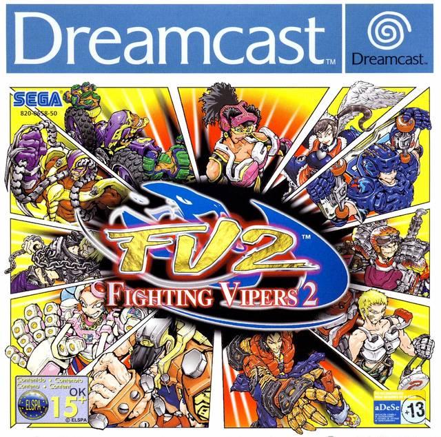 Carátula del juego Fighting Vipers 2 (DC)