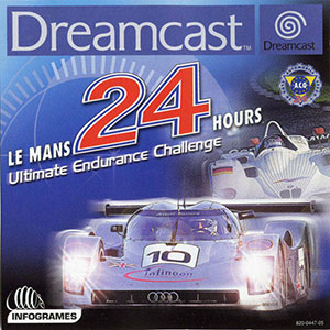 Carátula del juego Le Mans 24 Hours (DC)