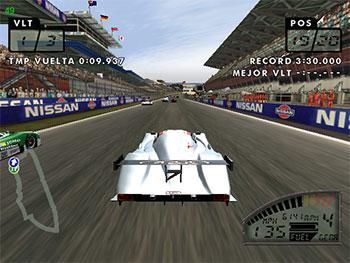 Pantallazo del juego online Le Mans 24 Hours (DC)