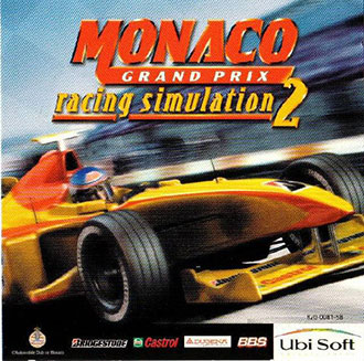Portada de la descarga de Racing Simulation: Monaco Grand Prix