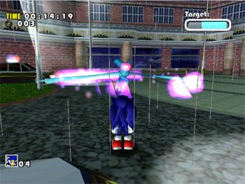 Pantallazo del juego online Sonic Adventure (DC)