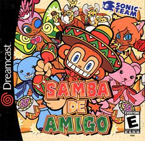 Portada de la descarga de Samba De Amigo