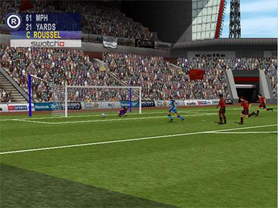 Sega Worldwide Soccer 2000: Euro Edition