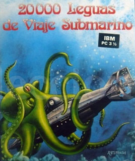 Portada de la descarga de 20000 Leagues Under the Sea