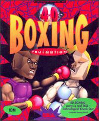 Portada de la descarga de 4D Sports Boxing