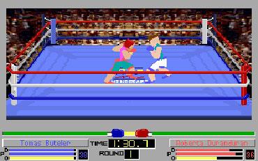Pantallazo del juego online 4D Sports Boxing
