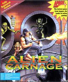 Portada de la descarga de Alien Carnage