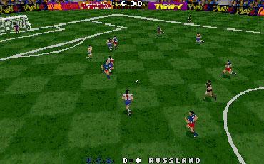Pantallazo del juego online Actua Soccer (pc)