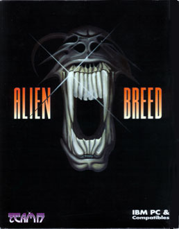Portada de la descarga de Alien Breed