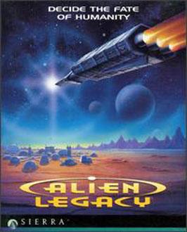 Portada de la descarga de Alien Legacy
