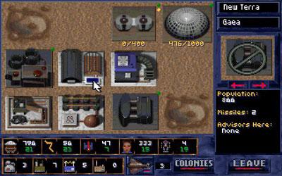 Pantallazo del juego online Alien Legacy (PC)