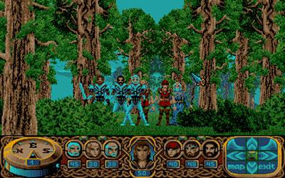Pantallazo del juego online Crystals of Arborea (PC)
