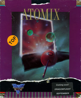 Carátula del juego Atomix (PC)