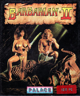 Carátula del juego Barbarian II The Dungeon of Drax (PC)