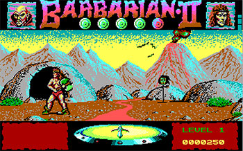 Pantallazo del juego online Barbarian II The Dungeon of Drax (PC)