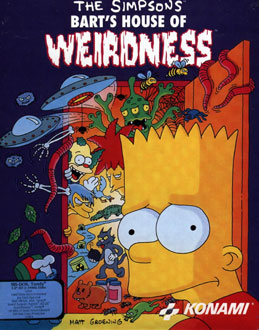 Juego online The Simpsons: Bart's House of Weirdness (PC)