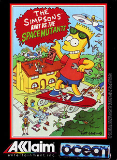 Juego online The Simpsons: Bart vs the Space Mutants (PC)