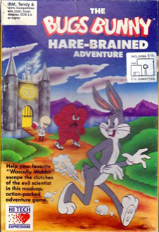 Portada de la descarga de The Bugs Bunny Hare-Brained Adventure