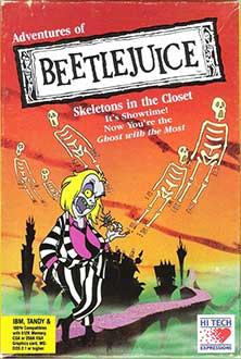 Portada de la descarga de Adventures of Beetlejuice: Skeletons in the Closet
