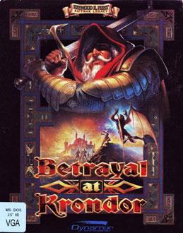 Portada de la descarga de Betrayal at Krondor