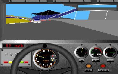 Pantallazo del juego online Bill Elliot's NASCAR Challenge (PC)